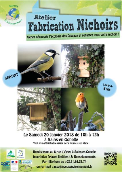 Atelier Fabrication Nichoirs @ Sains-En-Gohelle   Arles   Provence-Alpes-Côte d'Azur   France