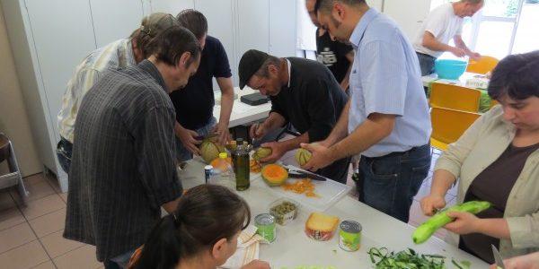 Atelier cuisine : salade de pâtes