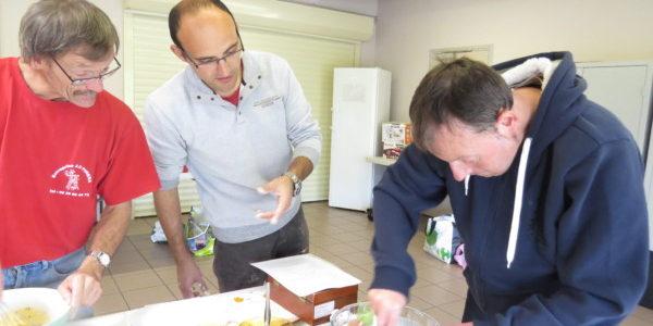 Atelier cuisine avec une diététicienne